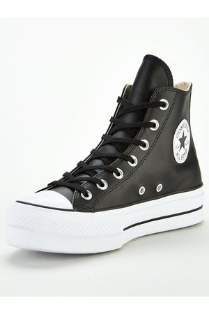 Converse Covnerse Chuck Taylor All Star Leather Lift Platform Hi