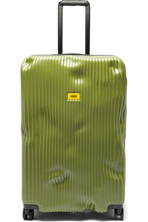 Crash Stripe 79cm Suitcase - Mens - Khaki