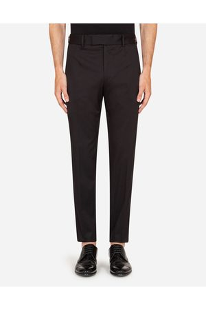 Dolce & Gabbana Collection - STRETCH COTTON PANTS male 44