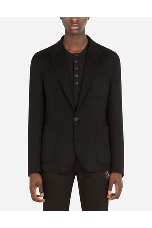 Dolce & Gabbana Collection - DECONSTRUCTED CASHMERE JACKET male 44