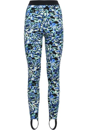 Paco rabanne Printed Viscose Leggings W/ Stirrup