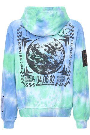McQ Genesis Ii Tie & Dye Cotton Hoodie