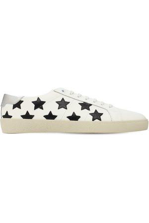Saint Laurent Stars Leather Sneakers