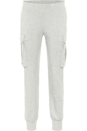 Norma Kamali Women Joggers - Stretch-cotton trackpants