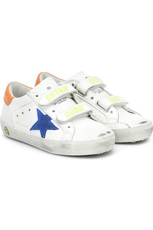 Golden Goose Boys School Shoes - Old School leather sneakers