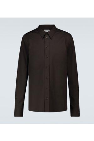 Bottega Veneta Broad collar long-sleeved shirt