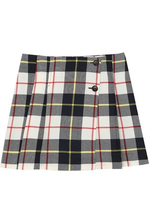 BONPOINT Perth checked wool skirt