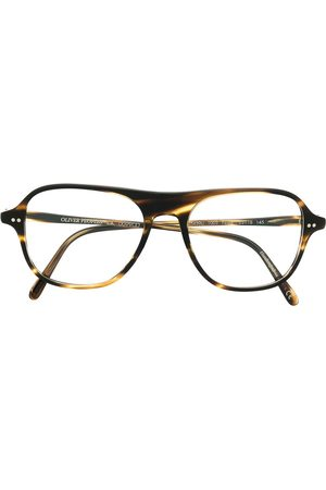 Oliver Peoples OV54 tortoiseshell-effect glasses