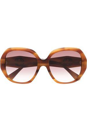 Gucci Sunglasses - Tortoiseshell oversized sunglasses