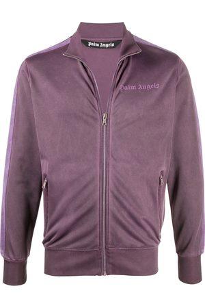 Palm Angels Men Summer Jackets - Logo track jacket