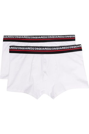 Dsquared2 Two-pack logo waistband boxer briefs