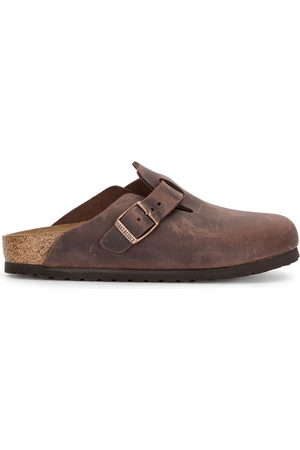 Birkenstock Boston open-selvage slippers