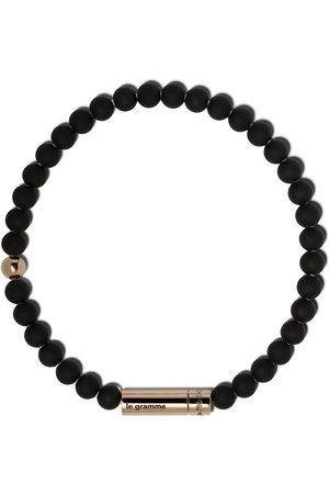 Le Gramme 18kt yellow 25g beads bracelet