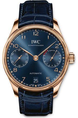 IWC SCHAFFHAUSEN Rose Gold Portugieser Automatic Boutique Edition Watch 42.3mm