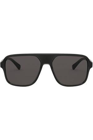 Dolce & Gabbana Step Injection Square Sunglasses