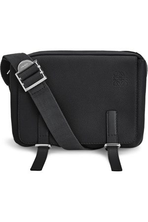 Loewe XS Leather Military Messenger Bag