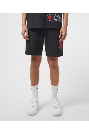 Champion Men's Block Logo Fleece Shorts