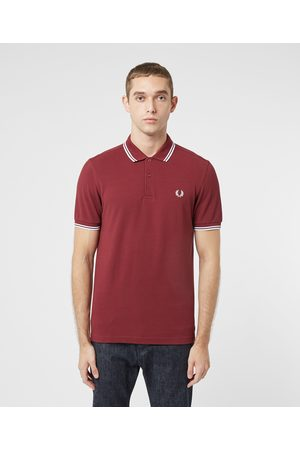 Fred Perry Men Polo Shirts - Men's Twin Tipped Short Sleeve Polo Shirt Men's