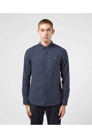 Farah Men Tops - Men's Long Sleeve Oxford Shirt