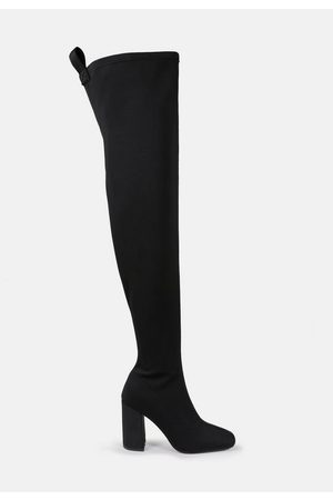 Missguided Square Toe Over The Knee Boots