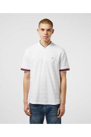 Tommy Hilfiger Men's Baseball Collar Short Sleeve Polo Shirt