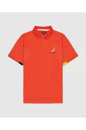 Nautica Competition Men's Batten Core Short Sleeve Polo Shirt