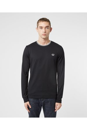 Fred Perry Men Tops - Men's Twin Tipped Long Sleeve T-Shirt