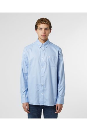 Fred Perry Men's Core Oxford Long Sleeve Shirt