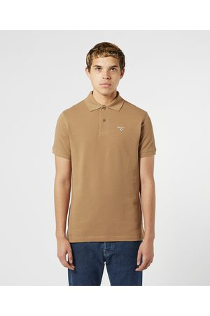 Barbour Men's Tartan Short Sleeve Polo Shirt