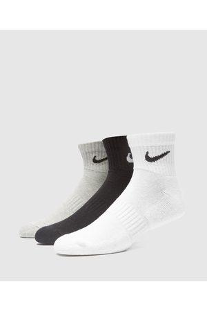 Nike Men's 3-Pack Lightweight Quarter Socks