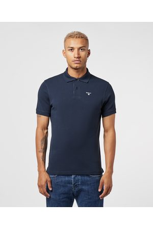 Barbour Men's Tartan Pique Short Sleeve Polo Shirt