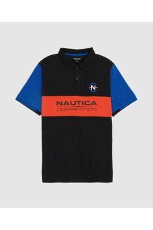 Nautica Competition Men's Laker Pique Short Sleeve Polo Shirt