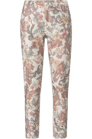 Mybc Ankle-length trousers skinny leg. multicoloured size: 20