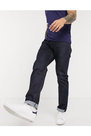 Levi's 502 tapered fit jeans in rock cod dark wash