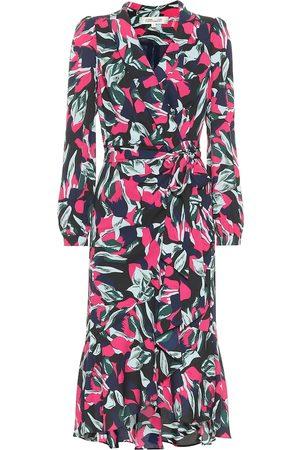 Diane von Furstenberg Carla Two crêpe wrap dress