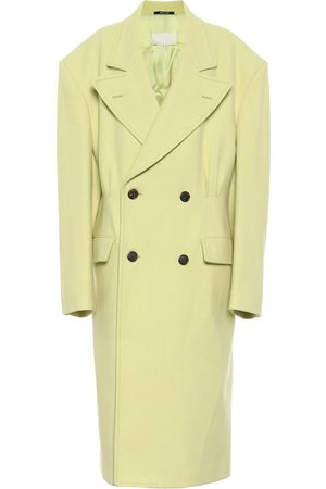 Maison Margiela Oversized virgin wool coat
