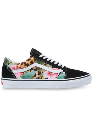 Vans Tropical Animal Check Old Skool Shoes