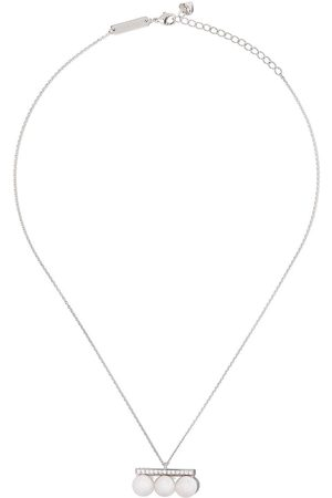 Tasaki Women Necklaces - 18kt white gold Balance Neo diamond pave pendant
