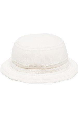 Barrie Knitted bucket hat - Neutrals