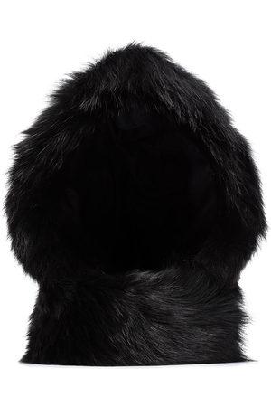 Chloé Faux fur reversible hood