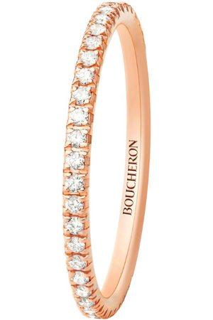 Boucheron Rose Gold and Diamond Epure Wedding Band