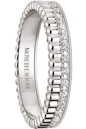 Boucheron Rings - White Gold and Diamond Quatre Radiant Edition Wedding Band
