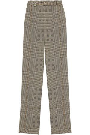 Burberry Jodhpur check print trousers
