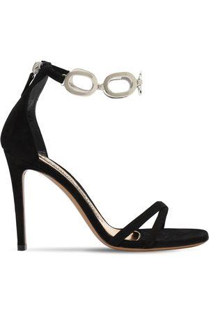 ALEXANDRE VAUTHIER 100mm Suede Sandals