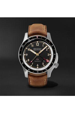 Bremont Men Watches - IonBird 43mm Automatic Chronometer Titanium and Nubuck Watch