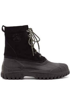 Diemme Anatra Suede And Rubber Boots - Mens
