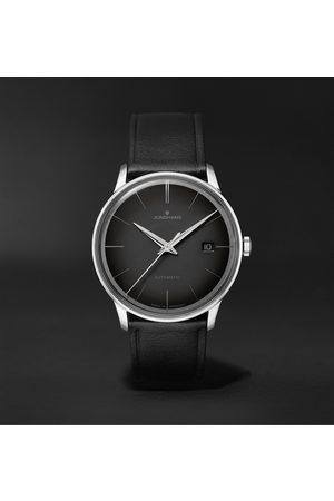 Junghans Men Watches - Meister Automatic 38mm Stainless Steel and Leather Watch, Ref. No. 027/4051.00