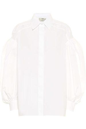 Fendi Cotton poplin shirt