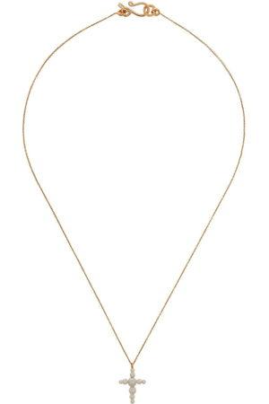 SOPHIE BILLE BRAHE 14kt yellow croissant pearl necklace