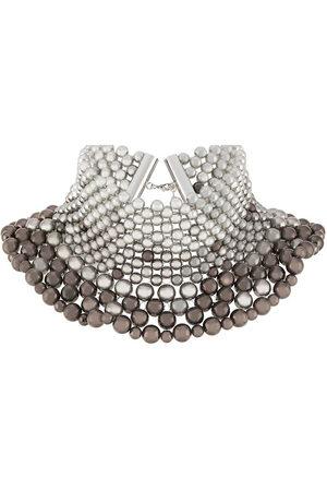 SUNNEI Beaded collar necklace